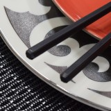 Black Hexagon Chopsticks