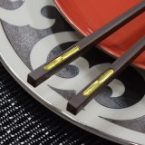 Inlaid Brown Chopsticks
