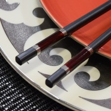 Marble Ruby Chopsticks