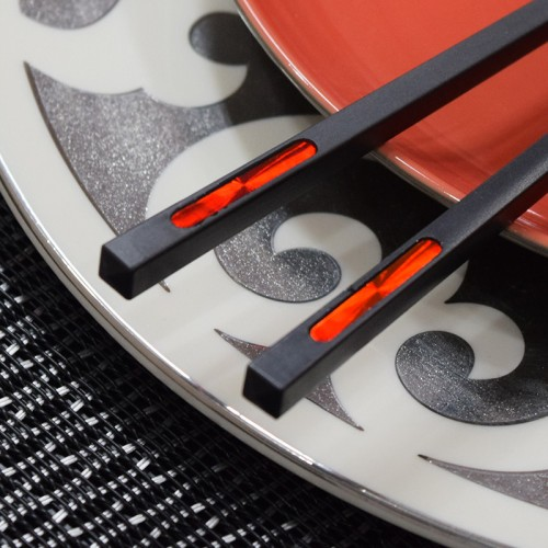 Ruby Inlaid Chopsticks