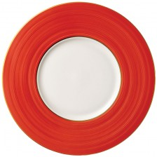 Red Show Plate