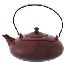 Crimson Tea Pot